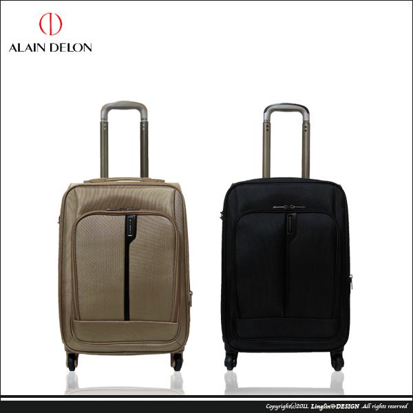 【ALAIN DELON】20吋 輕量典雅商務海關鎖登機箱/行李箱