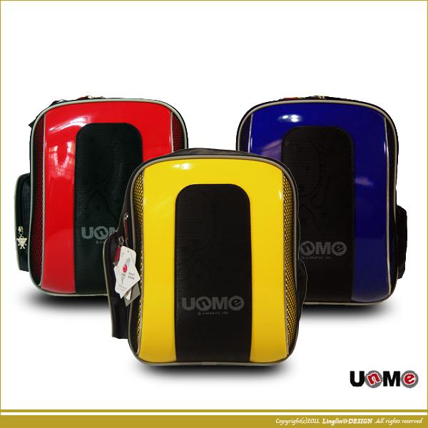 UnMe 輕量兒童護脊易背防水鏡面書包/小學生後背書包3203