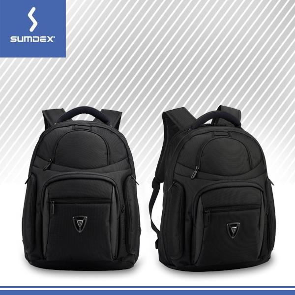 【SUMDEX】 X-sac 16吋航遠商旅電腦背包 PON-396+數位袋