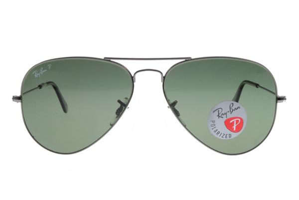Ray Ban雷朋 槍色銀邊 太陽眼鏡 RB3025 偏光鏡