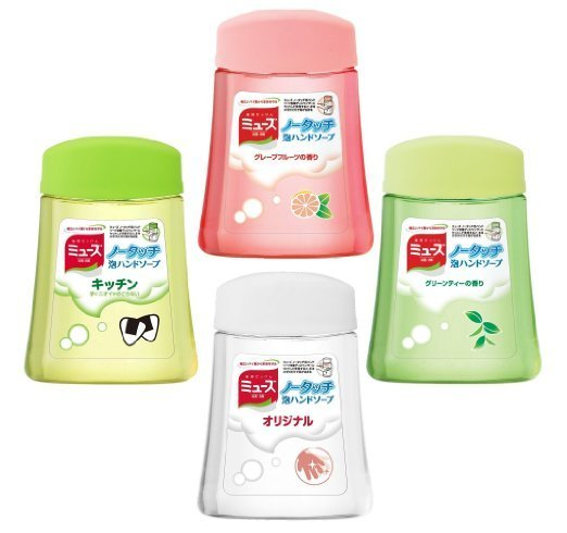 新品上市 日本進口 muse 自動洗手補充液 250ml 綠茶/鮮柚/廚房專用/除菌 香皂香