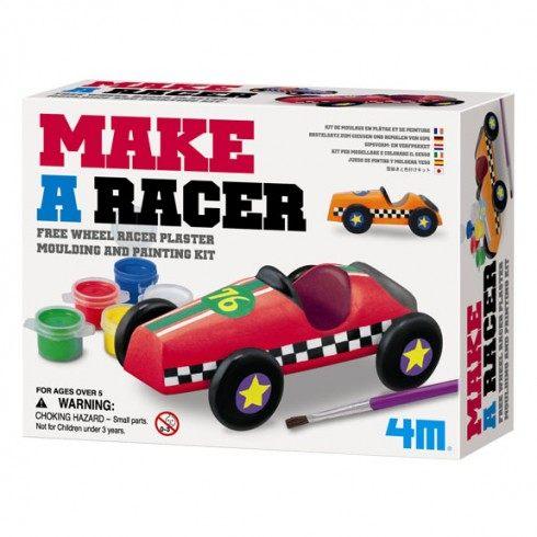 【4M 創意 DIY】Make A Racer 極速賽車