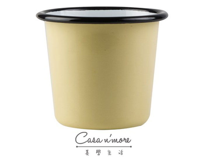 Muurla 琺瑯杯 咖啡杯 琺瑯 嫩葉黃 200 ml