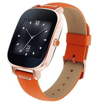 ASUS ZenWatch2 玫瑰金限定版 真皮橘子糖 1.45 小錶/聰明聲控/磁吸式快充/iOS/Android/智慧穿戴/智能手錶/健康管理/禮品/贈品/TIS購物館