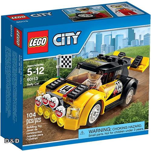 樂高積木LEGO《 LT60113 》2016 年 CITY 城市系列 - 拉力賽車