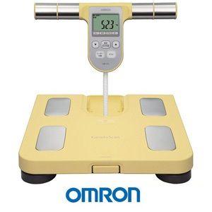 OMRON歐姆龍體重體脂肪計HBF-370(黃色),限量加贈歐姆龍專用提袋
