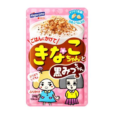 Hagoromo甜點好朋友黃金黃豆粉脆片-黑蜜黑芝麻 24g
