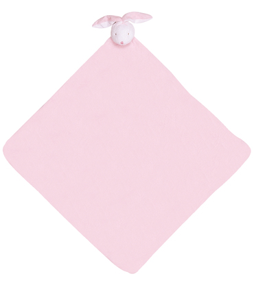 【美國 Angel Dear】動物嬰兒安撫午睡毯/睡袋/被子/毛毯 ─ 粉色邦妮兔