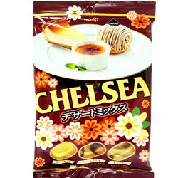 日本明治巧喜甜點綜合糖 內含3種風味(起司蛋糕/烤布蕾/蒙布朗)