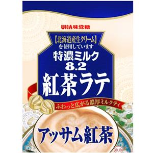 日本UHA味覺糖 特濃8.2 紅茶拿鐵糖果[JP289]