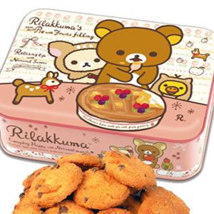 日本Heart 拉拉熊餅乾禮盒 (小方鐵盒款)