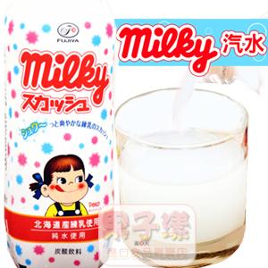 日本不二家 Milky 牛奶糖風味 碳酸飲料 (汽水)