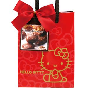 日本Heart 情人節限定 Hello Kitty巧克力手提袋 情人節禮物