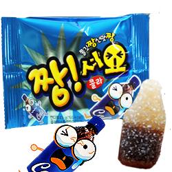 韓國Lotte樂天~可樂瓶造型軟糖 酸甜可樂味