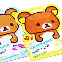 韓國進口 Rilakkuma 懶懶熊 拉拉熊維他命C片 檸檬片/藍莓片