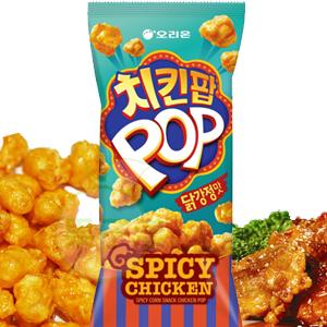 韓國ORION 好麗友 POP糖醋醬炸雞風味米果[KR017]
