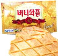 韓國CROWN 皇冠奶油鬆餅 餅乾