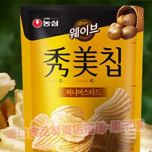 韓國農心 秀美洋芋片 (蜂蜜芥末味)[KR151]