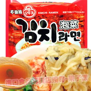 韓國不倒翁 泡菜風味拉麵(單包) 泡麵 [KR046]