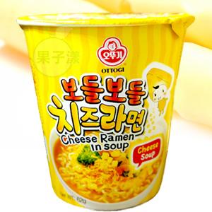 韓國不倒翁 起司風味濃湯杯麵 泡麵[KR115]