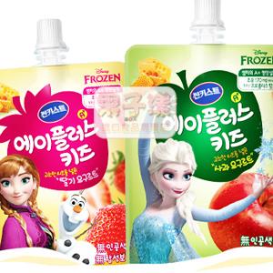 韓國Sunkist 冰雪奇緣包裝 乳酸飲料 優格飲[KR122]