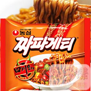 韓國農心 四川炸醬麵 辣味醡醬麵 韓國內銷品泡麵(單包)[KR124]