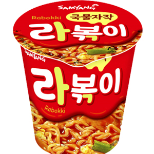 韓國 辣炒年糕風味杯麵 泡麵[KR134]