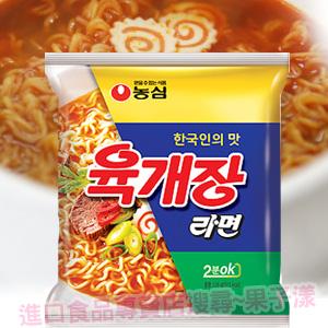 韓國農心 辣牛肉湯麵 快煮2分鐘OK -泡麵-(單包) [KR168]