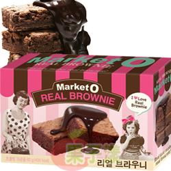 韓國Market O布朗尼蛋糕 巧克力口味 李昇基代言