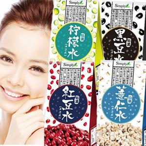 Simply 嚴選特濃紅豆水 /山藥薏仁水/黑豆水/檸檬水 [TW039]