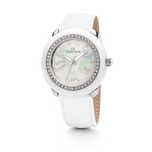 Folli Follie 華麗晶鑽亮彩腕錶/WF0A060SPW