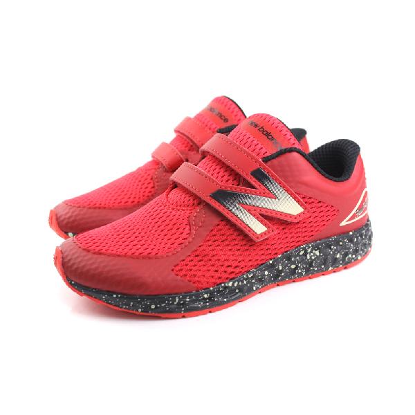 New Balance  跑鞋 童鞋 紅色 夜光系列 中童 no134