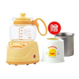 【悅兒樂婦幼用品舘】Piyo 黃色小鴨 微電腦調乳器-贈送【 調乳保溫容器】