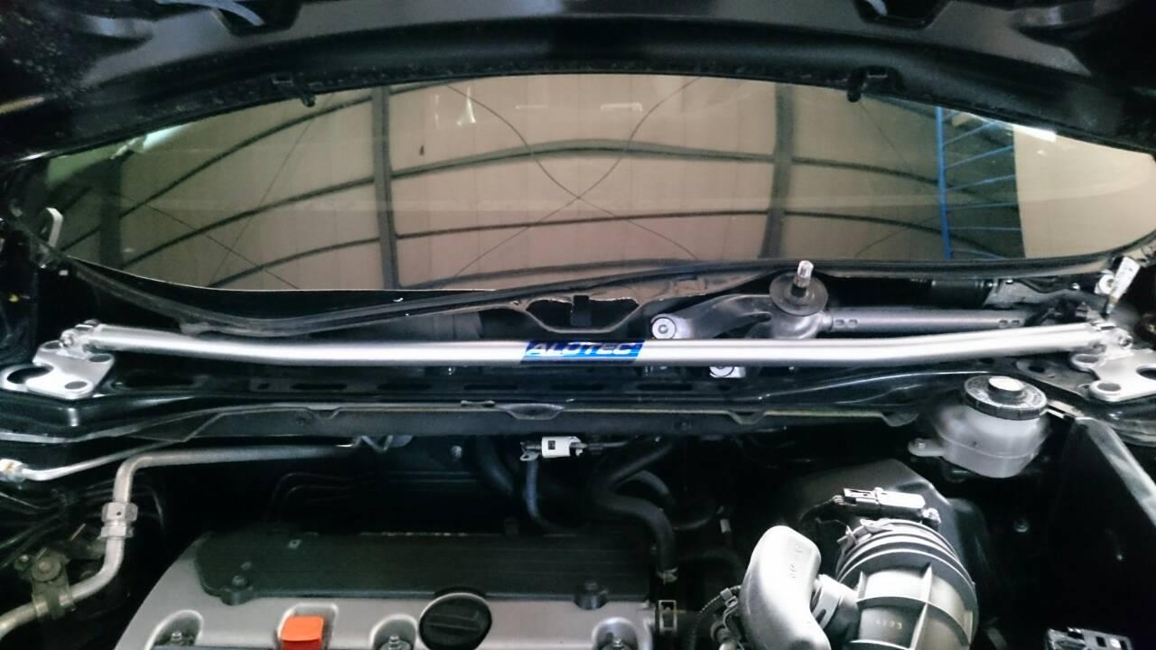 HONDA 汽車引擎室拉桿 for 2014~ CR-V (ALUTEC)