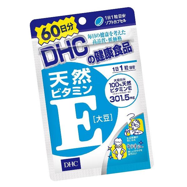 日本 DHC 維他命E ( 20日份20粒 /  60日60粒)