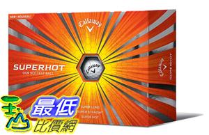 [COSCO代購如果沒搶到鄭重道歉] Callaway SuperHot 三層高爾夫球48入(3入 x 16盒) _W994698
