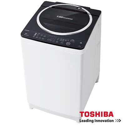 TOSHIBA東芝SDD 變頻12公斤洗衣機 魅力黑 AW-DE1200GG /雙噴射瀑布水流強度控制
