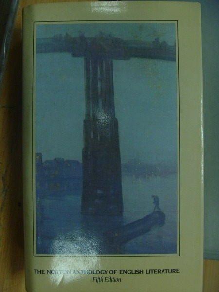【書寶二手書T4/原文小說_ZKL】The norton anthology of english literature