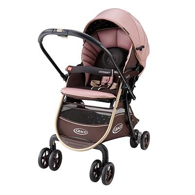 【悅兒樂婦幼用品舘】Graco 購物型雙向嬰幼兒手推車豪華休旅 CITINEXT CTS-櫻花步道