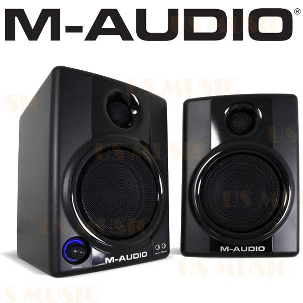 【非凡樂器】『M-AUDIO Studio Phile AV30』 錄音室級電腦 監聽喇叭 二顆一對