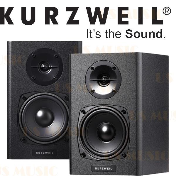 【非凡樂器】『2014全新品Kurzweil KS-40A KS40A』主動式監聽喇叭 音樂製作好幫手、打電玩好音效