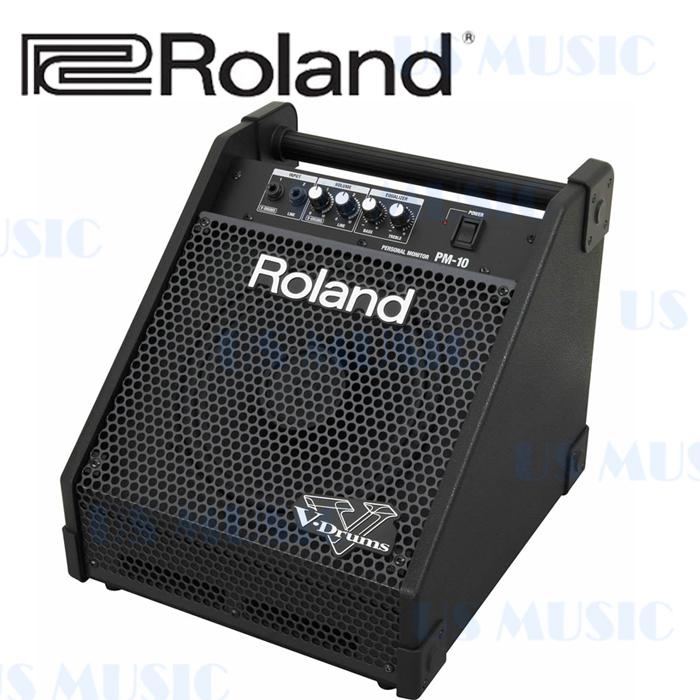【非凡樂器】『ROLAND PM-10 30瓦個人用監聽音箱』多功能監聽音箱/電子鼓/電子琴/吉他/貝斯通用