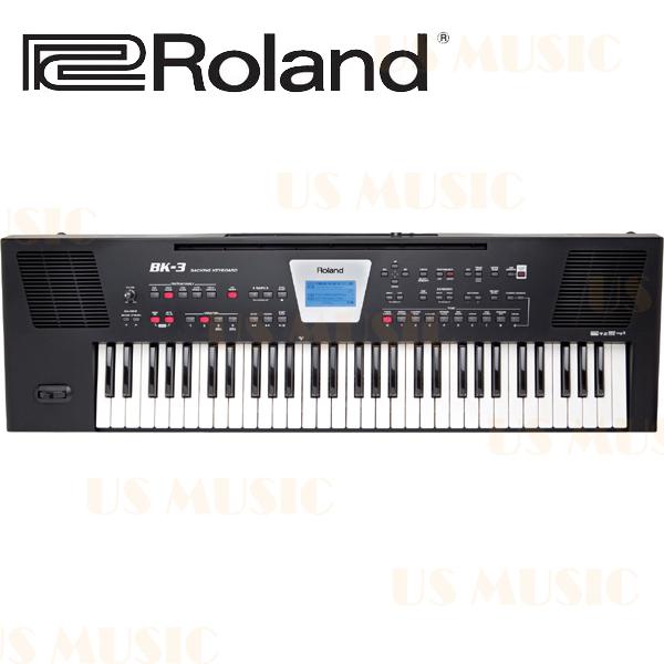【非凡樂器】ROLAND樂蘭-行動伴奏鍵盤(BK-3)您的個人專屬伴奏樂團  內建風格多元的音色與節奏 一個專用按鍵錄音 可以連接iPhone與iPad