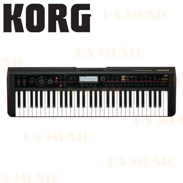 【非凡樂器】KORG KROSS 61鍵可攜式合成器鍵盤工作站 61-Key Music Workstation/原廠保固一年