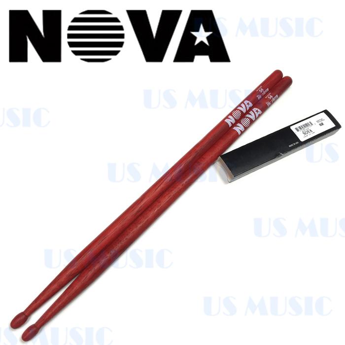 【非凡樂器】『NOVA 5A爵士鼓棒』Vic Firth副廠/紅色鼓棒