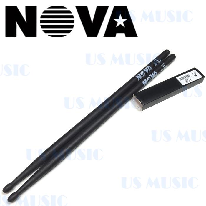 【非凡樂器】『NOVA 5A爵士鼓棒』Vic Firth副廠/黑色鼓棒