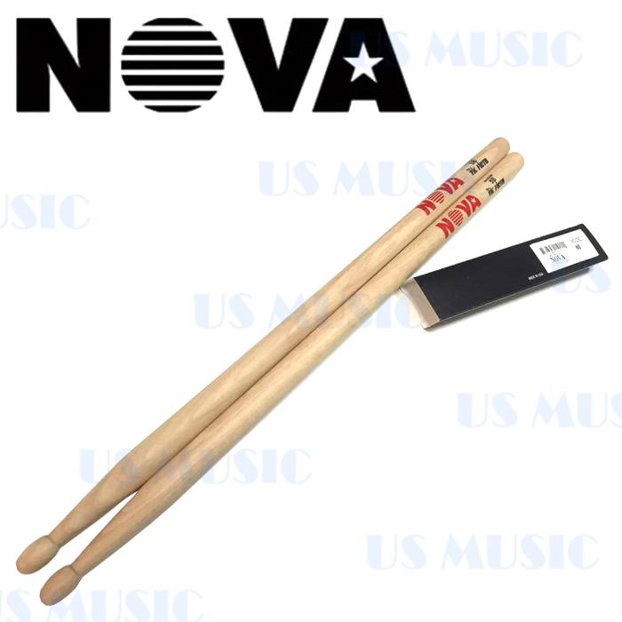 【非凡樂器】『NOVA 5B爵士鼓棒』Vic Firth副廠/原木色鼓棒
