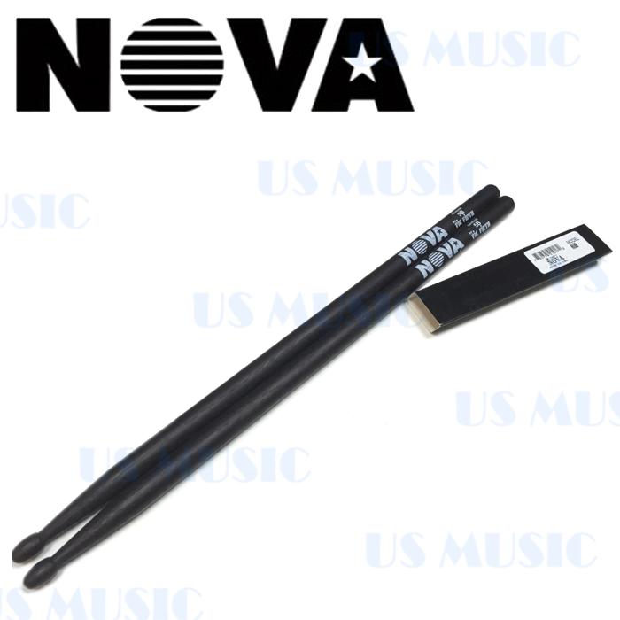 【非凡樂器】『NOVA 5B爵士鼓棒』Vic Firth副廠/黑色鼓棒
