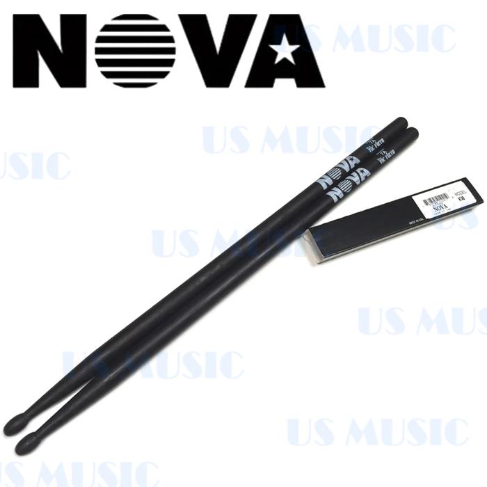 【非凡樂器】『NOVA 7A爵士鼓棒』Vic Firth副廠/黑色鼓棒