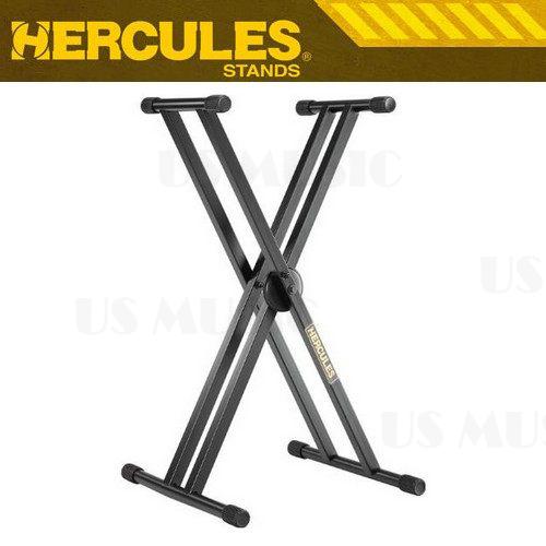 【非凡樂器】『HERCULES 海克力斯 KS120B』雙管叉型鍵盤架 HERCULES以高品質與高穩定度為鍵盤架系列產品立下模範